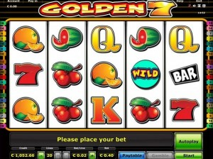 golden 7 slot
