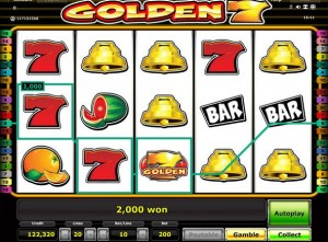golden seven slot